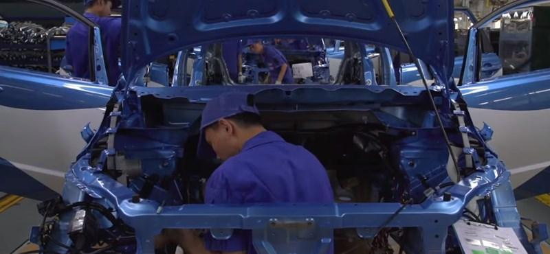 Videó: Így ontja az elektromos autókat Kína legnagyobb gyártója