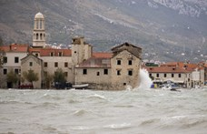 Hatalmas vihar volt a horvát tengerparton, városokat öntött el a víz