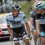 Andy Schleck ugrott az élre a Tour de France-on