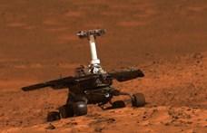 Fotó: Ezt a képet küldte haza utoljára az Opportunity marsjáró