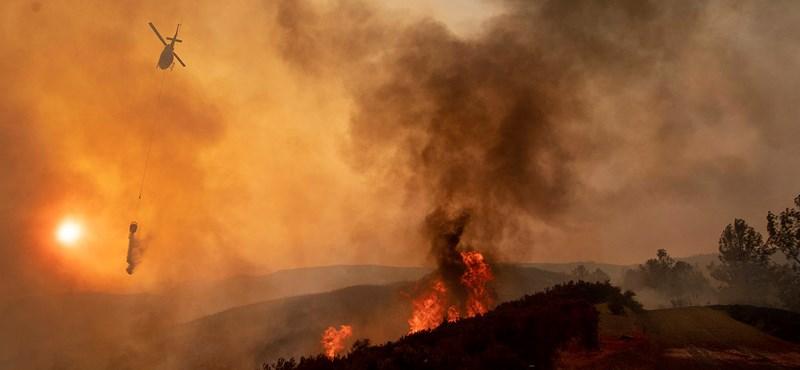 Az űrből is látszik a brutális kaliforniai tűzvész – le is fotózta egy asztronauta