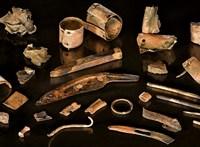 Egy 3300 éve meghalt katona személyes tárgyait fedezték fel Németországban