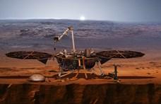 Beindult a NASA Marsra kiküldött robotvakondja