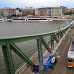 Évente 30 milliót spórol a Szabadság híd