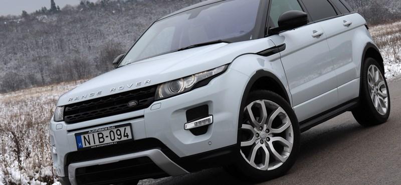A Range Rover Evoque láthatatlan 80 ezer kilométere - használtautóteszt