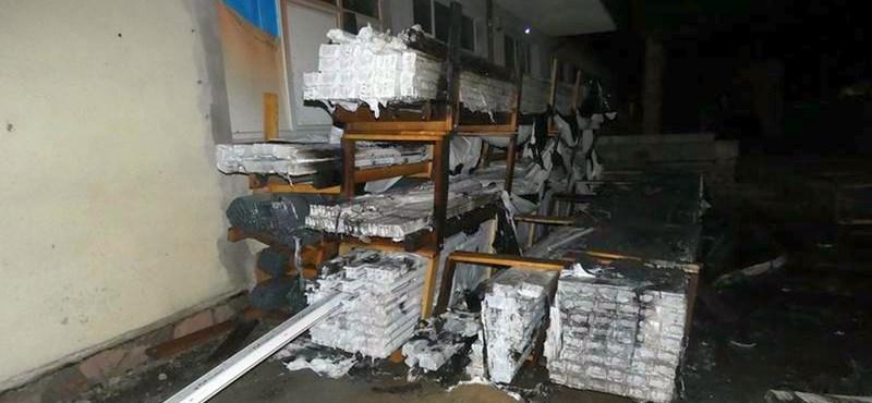 Többmilliós kárt okozott a salgótarjáni ablakgyújtogató – videó