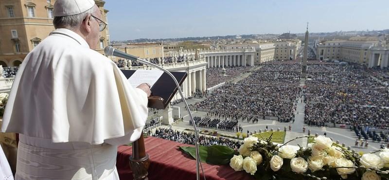 A pápa elleni terrorista fenyegetés terjed a neten