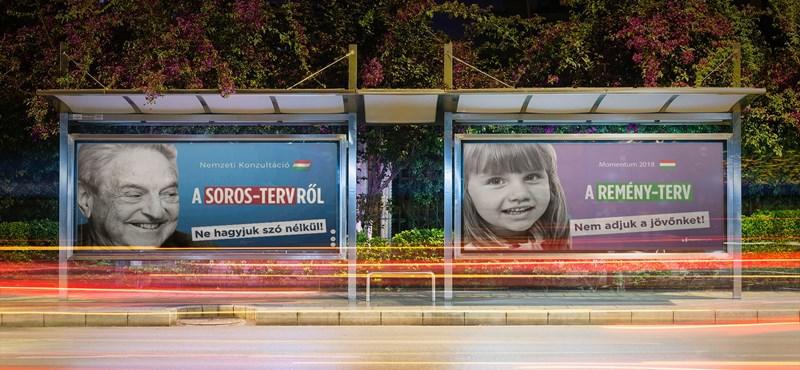 A Momentum pozitívkampánnyal válaszolna a kormány Soros-kampányára
