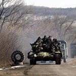 Heves harcok dúltak az éjjel Ukrajnában