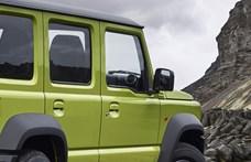 Ötajtós új változatban érkezhet a kicsi Suzuki Jimny