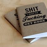 Cenzúra nélkül: dobd fel a munkanapokat mocskosszájú notesszel!