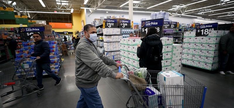 Koronavírus az USA-ban: csak New Yorkban több mint 1000 ember halt meg