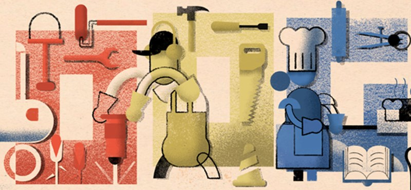 A munka ünnepe 2019: ezzel tiszteleg ma a Google a kétkezi munkások előtt