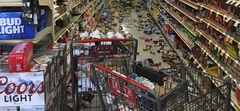 Újabb erős földrengés volt Kaliforniában