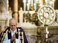 A Margitszigeten misézik Erdő Péter Szent Margit tiszteletére