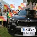 A nagy és sokat fogyasztó SUV-okat drágábbá tennék a németek