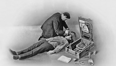 Falióra és biciklipumpa házasításából született az első lélegeztetőgép