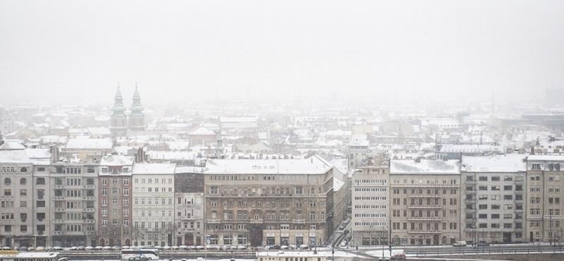 Fagy, hó és még a szmog is visszatért