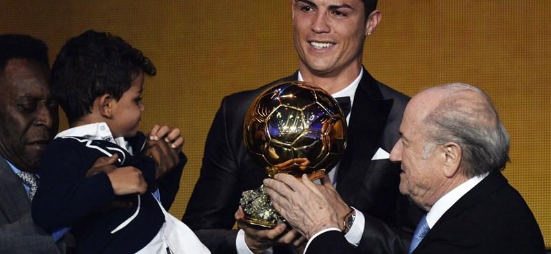 Ronaldo a gyerekvállalásban is gólkirály lenne