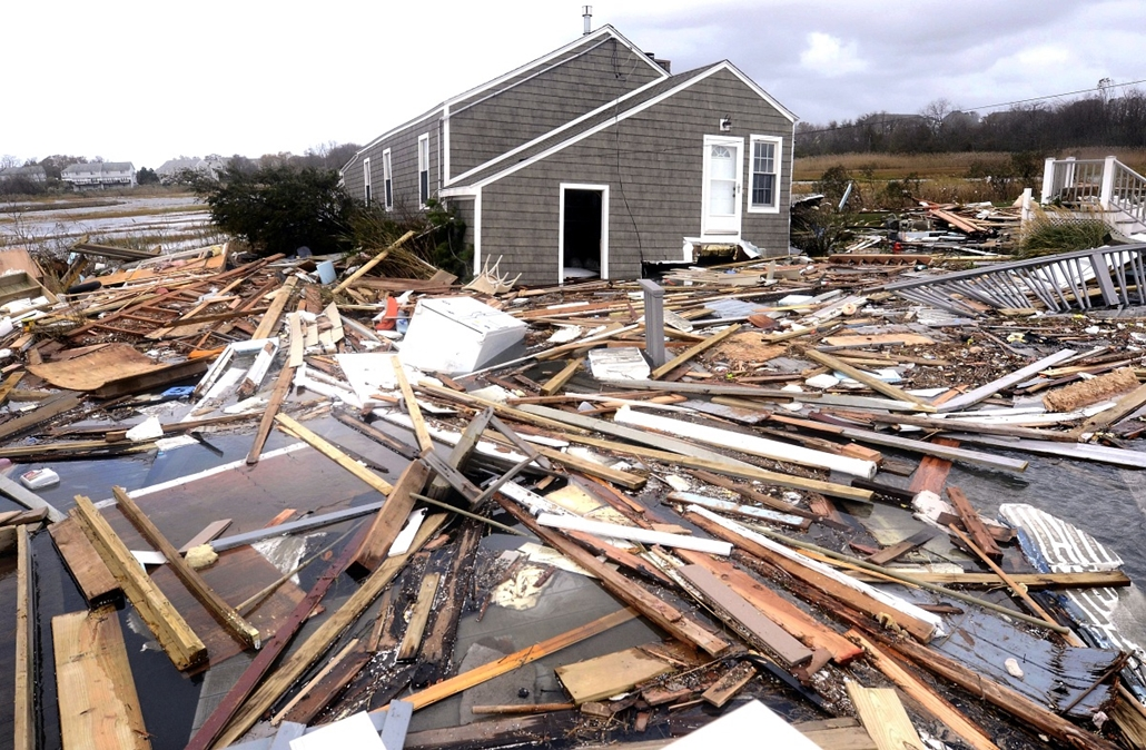 East Haven, Connecticut - Sandy hurrikán