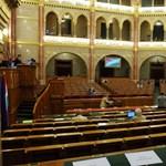 Megszólalt Németh Lászlóné - parlament percről percre