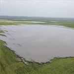 A Körösöknél már tíz szakaszon küzdenek a belvíz ellen