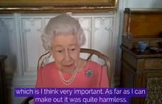 II. Erzsébet királynő Zoomon keresztül üzent azoknak, akik félnek a vakcinától