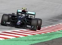 F1: Bottas nyerte az imolai időmérő edzést
