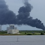 Most történt: felrobbant a SpaceX Falcon-9 űrrakéta a kilövőálláson