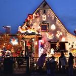 Fotók: a legextrémebb karácsonyi égősorok Amerikából