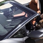 Eladja megkímélt Lamborghinijét Vajna Tímea