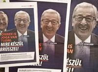 """Juncker is kiakadt a kormány plakátkampányán: """"Hazudnak"""""""