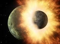 Megfejthették a rejtélyt: egy 780 km átmérőjű bolygóval ütközhetett a Hold