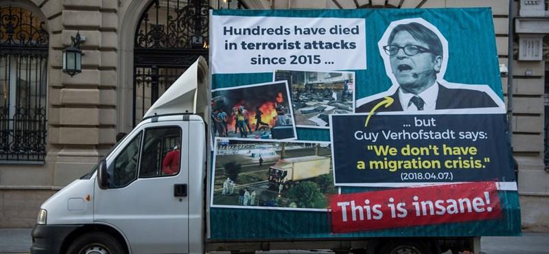 Verhofstadt odaszólt Orbánnak: Nem túl eredeti, Viktor