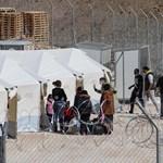 Újabb görögországi menetkülttábornál ütött ki tűz