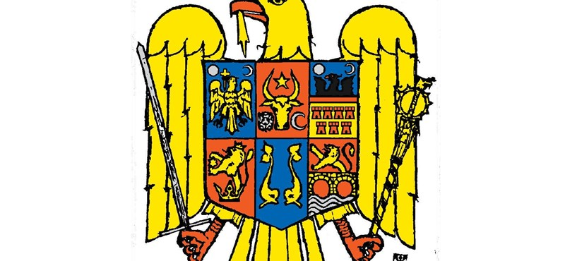 Visszateszik a román sas fejére a koronát a címerben