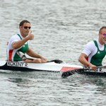 Dombi Rudolf és Kökény Roland olimpiai bajnokok