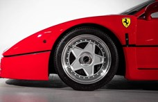 Eladó egy legendás Ferrari F40, aminek az első tulajdonosa is egy legenda