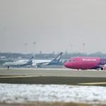 Visszafordult Budapestre a Wizz Air egyik járata