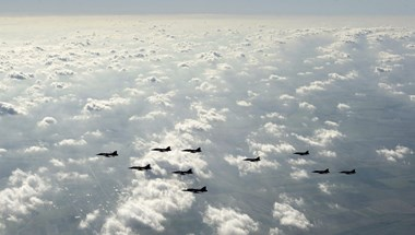 Soha ennyi kínai vadászgép nem hergelte még Tajvant egyszerre