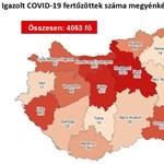 Békés megyében ismét megjelent a vírus, ötből viszont eltűnt