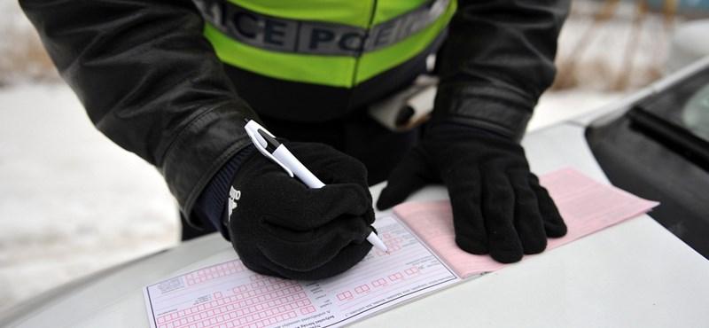 Pénzbehajtás vagy törvénykövetés? A jövőben nem mérlegel, csak bírságol a rendőr