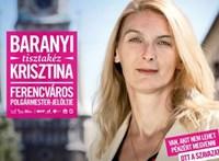Baranyi Krisztina nyerésre áll Ferencvárosban