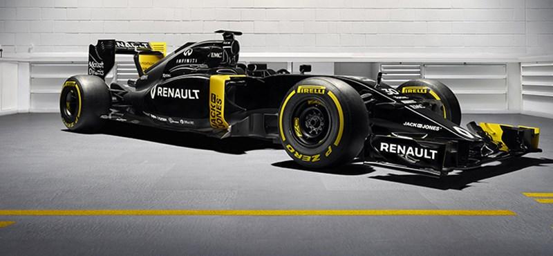 Szinte teljes feketében tért vissza a Forma–1-be a Renault