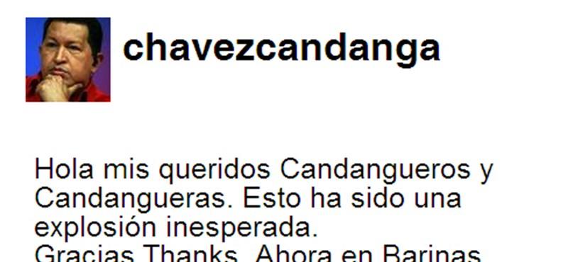 Chávez twitterezésre biztatja Castrót és Moralest