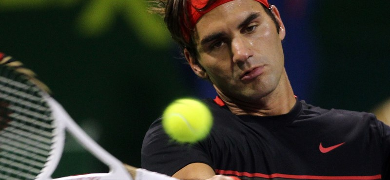 Federer fantasztikus rekordot ért el
