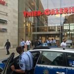 Bombariadó Dortmundban - kiürítettek egy bevásárlóközpontot