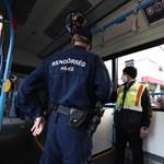 Két nap alatt 50 emberrel szemben intézkedtek két budapesti buszjáraton