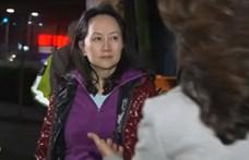 Kétmilliárd forintos óvadékért kiengedték a Huawei letartóztatott vezetőjét