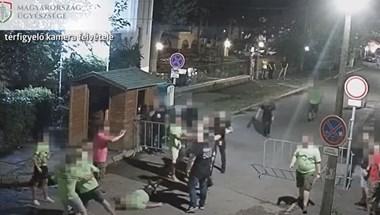 Biztonsági őrök támadtak egy legénybúcsúzó társaságra Siófokon – videó